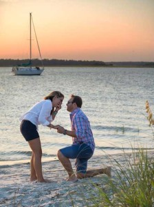sailing proposal myrtle beach bird island
